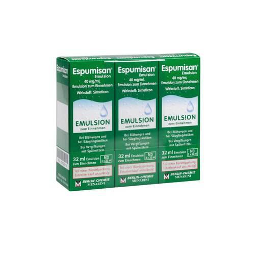 PZN 09706718 Emulsion, 3X32 ml