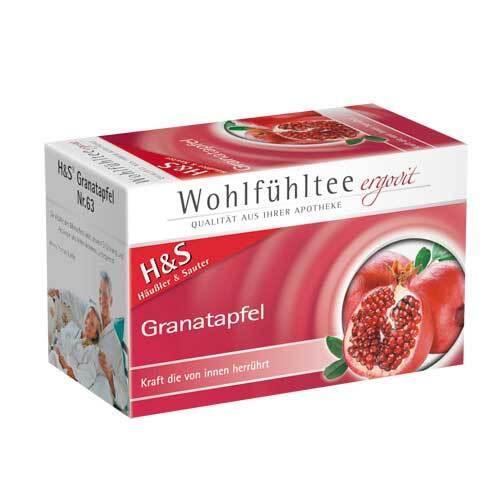 H&S Granatapfel Filterbeutel - 2