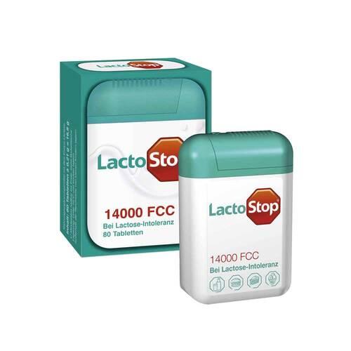 Lactostop 14.000 FCC Tabletten im Spender - 1