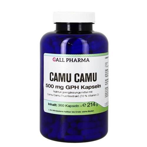 Camu Camu 500 mg GPH Kapseln - 1