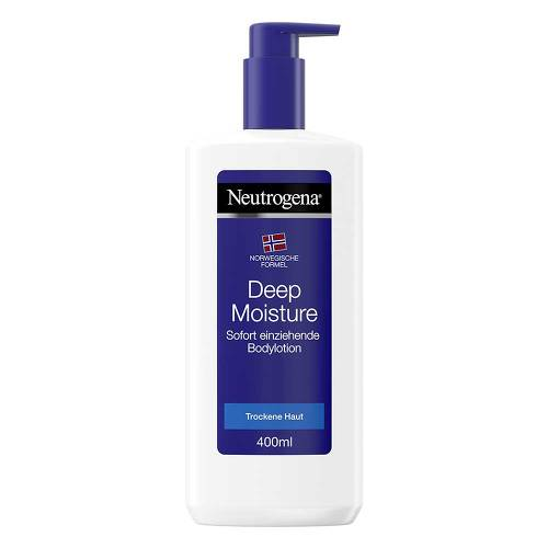 Neutrogena nF Deep Moisture Bodylotion trock. Haut - 1