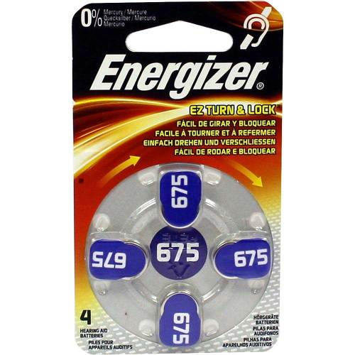 Energizer Hörgerätebatterie 675 - 1