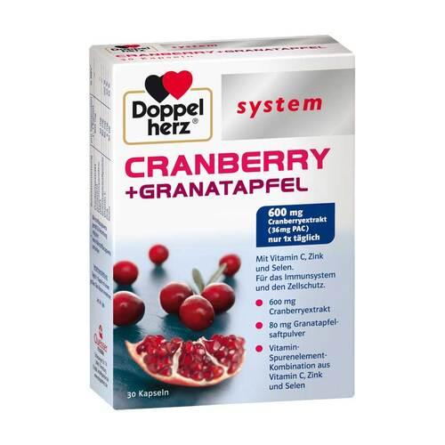 Doppelherz system Cranberry+Granatapfel Kapseln - 1