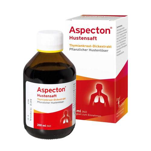 Aspecton Hustensaft - 1