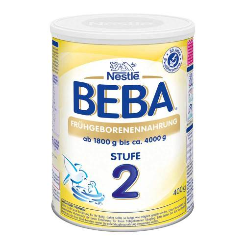 Nestle Beba Frühgeborenen Nahrung Stufe 2 - 1