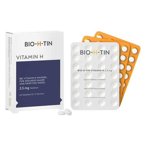 Bio-H-Tin Vitamin H 2,5 mg für 12 Wochen Tabletten - 1