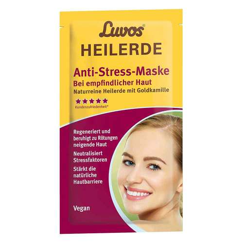 Luvos Heilerde Anti-Stress-Maske mit Goldkamille - 1