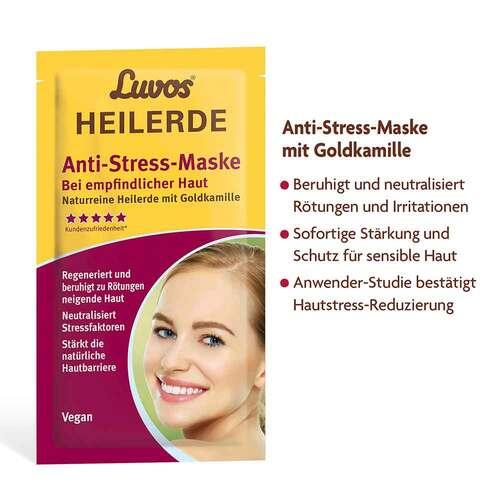 Luvos Heilerde Anti-Stress-Maske mit Goldkamille - 2