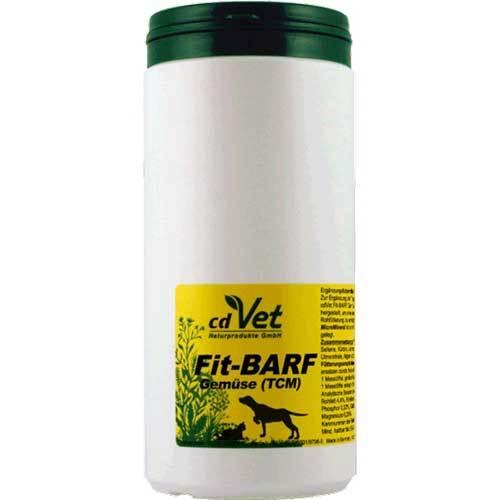 Fit-Barf Gemüse Tcvm Pulver vet. (für Tiere) - 1