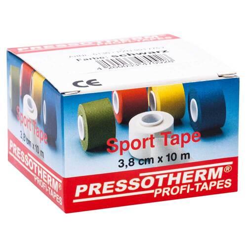 Pressotherm Sport-Tape 3,8cmx10m schwarz - 1