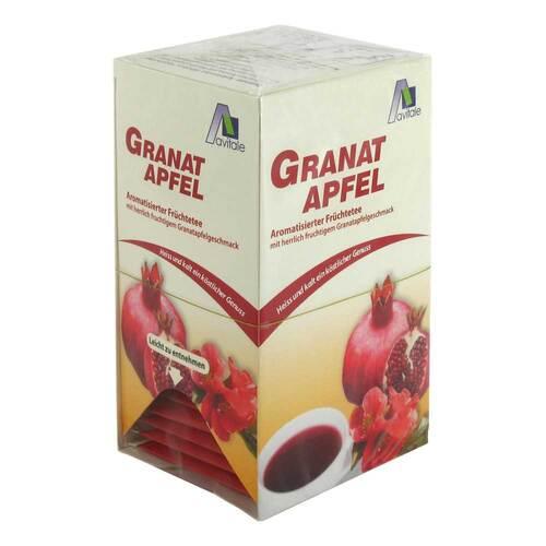 Granatapfel Tee Filterbeutel - 1