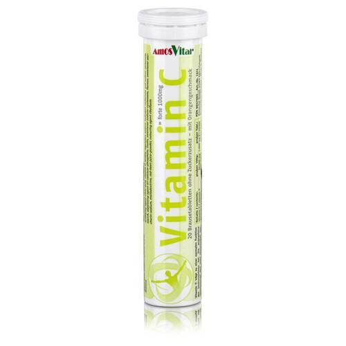 Vitamin C 1000 mg Amosvital Brausetabletten - 1