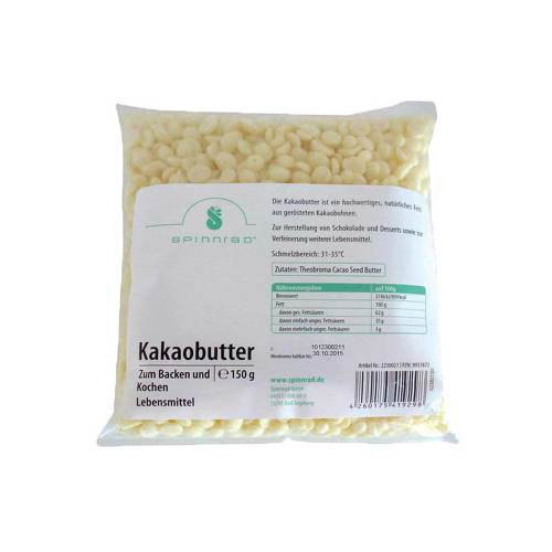 Kakaobutter Pellets zum Backen - 1
