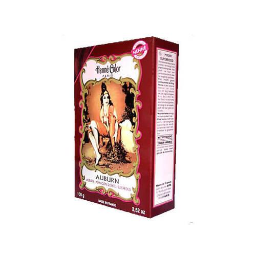 Henna Color Pulver mahagoni dunkel Auburn - 1