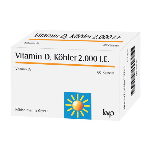 Vitamin D3 Köhler 2000 IE Kapseln - 1
