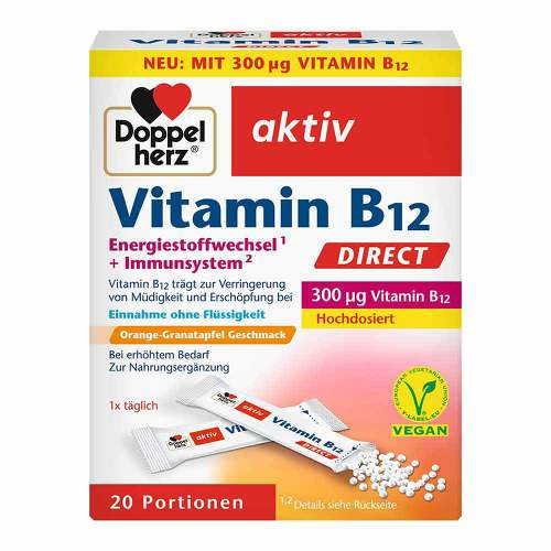 Doppelherz Vitamin B12 Direct Pellets - 1