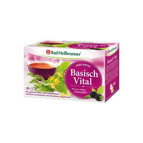 Bad Heilbrunner Kräutertee Basisch Vital - 1
