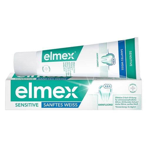 Elmex Sensitive Sanftes Weiss Zahnpasta - 1