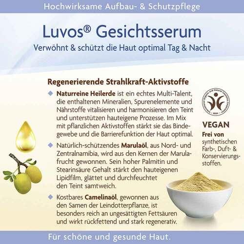 Luvos Naturkosmetik Gesichtsserum Intensivpflege - 4
