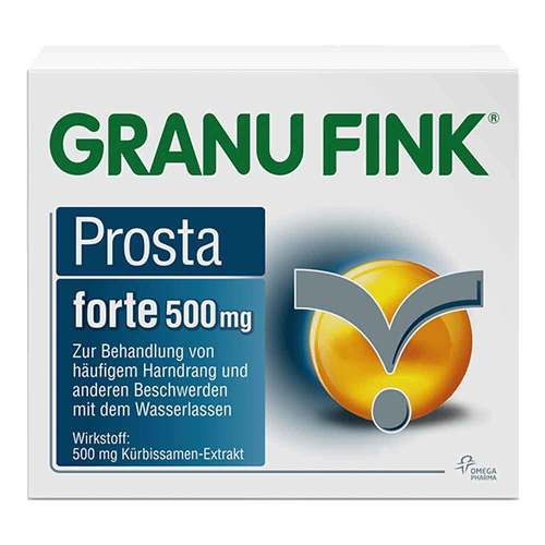 Granu Fink Prosta forte 500 mg Hartkapseln - 1
