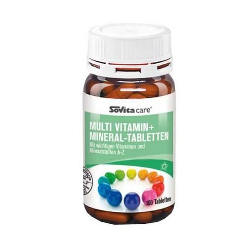 Sovita care Multi Vitamin + Mineral-Tabletten - 1