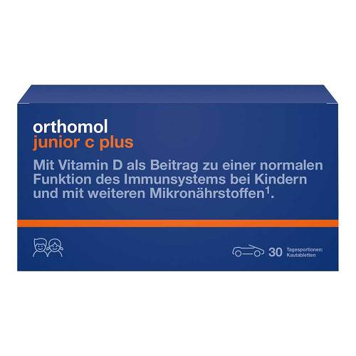 Orthomol Junior C plus Kautabletten Waldfrucht - 1
