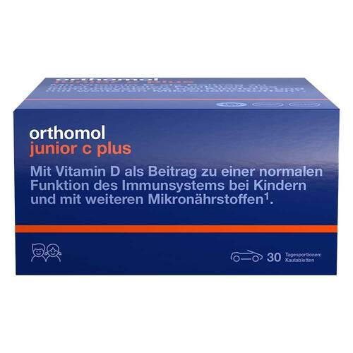Orthomol Junior C plus Kautabletten Mandarine-Orange - 1
