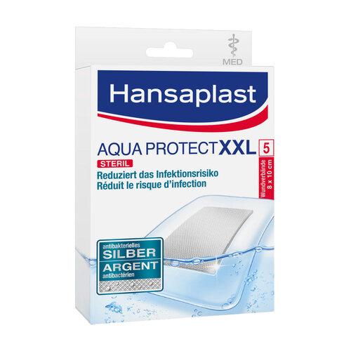 Hansaplast med Aqua Protect Pflaster XXL 8x10 cm - 1