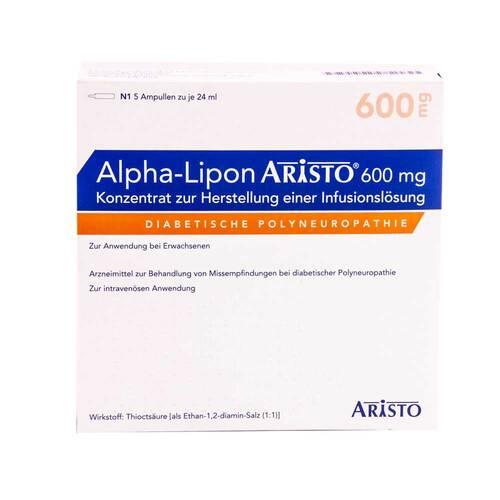 Alpha Lipon Aristo 600 mg Konzentrat zur Herstellung einer Infusionslösung - 1