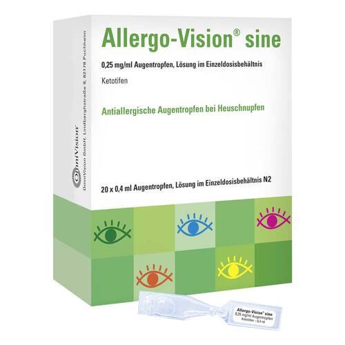 Allergo-Vision sine 0,25 mg / ml AT im Einzeldo.beh. - 1