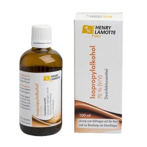 Isopropylalkohol 70% V / V Henry Lamotte - 1