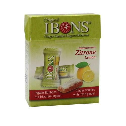 Ibons Zitrone Ingwerkaubonbons - 1