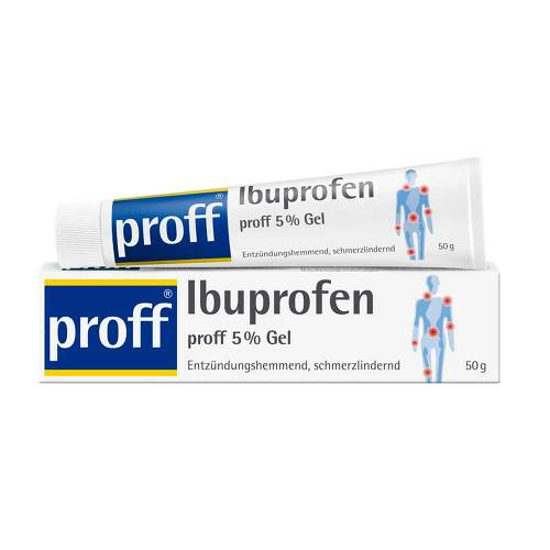 Ibuprofen proff 5% Gel - 1