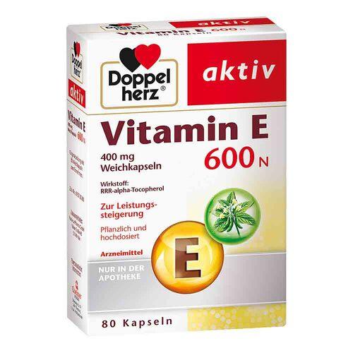 Doppelherz Vitamin E 600 N Weichkapseln - 1