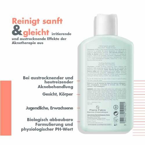 Avene Cleanance Hydra beruhigende Reinigungscreme - 3