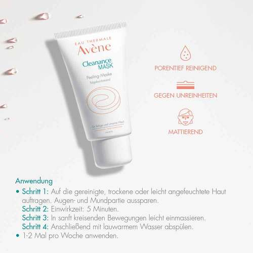 Avene Cleanance Mask Peeling-Maske - 4