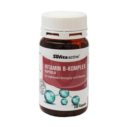 Sovita active Vitamin B-Komplex Kapseln - 1