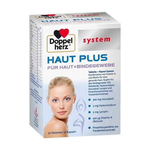 Doppelherz system Haut Plus Tabletten+Kapseln - 1
