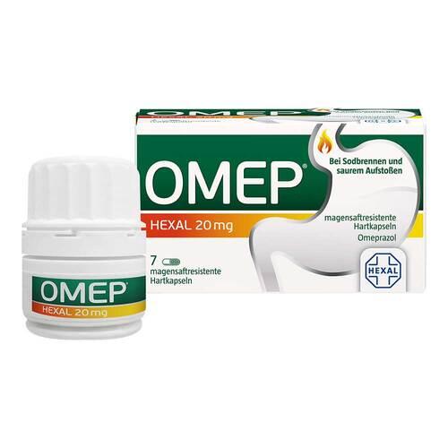 Omep Hexal 20 mg magensaftresistente Hartkapseln - 1