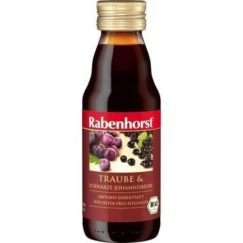 Rabenhorst Traube & schwar.Johannisbeere Bio Saft - 1