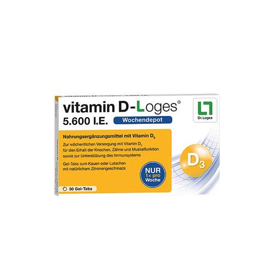 Vitamin D-Loges 5.600 I.E. Kautabletten - 1