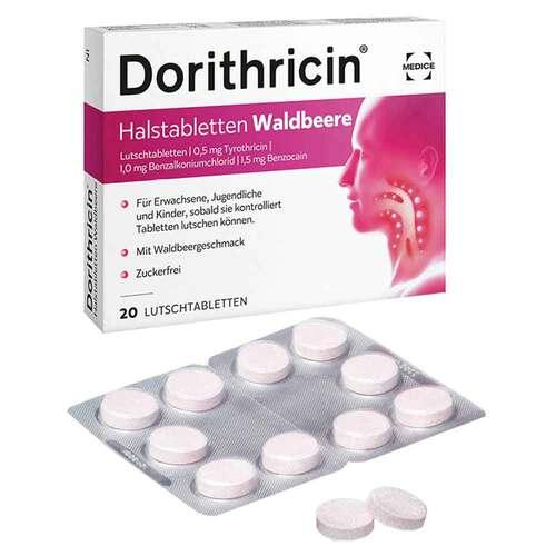 Dorithricin Halstabletten Waldbeere bei Halsschmerzen - 2
