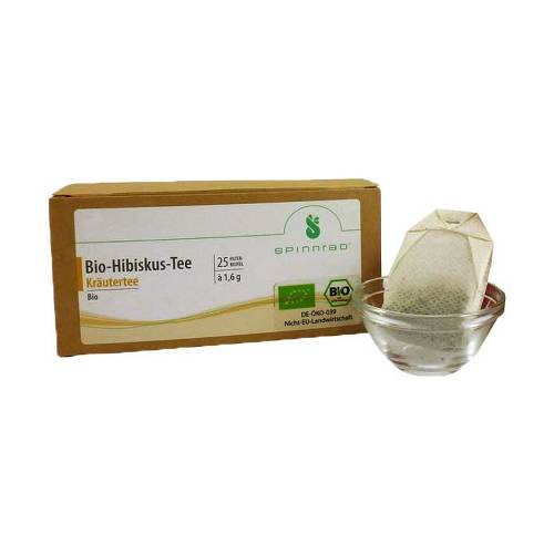 Hibiskus Bio Tee Filterbeutel - 1
