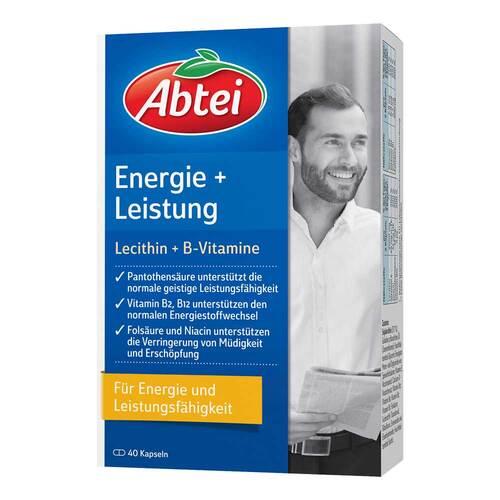Abtei Lecithin 2000 Plus B-Vitamine Kapseln - 1