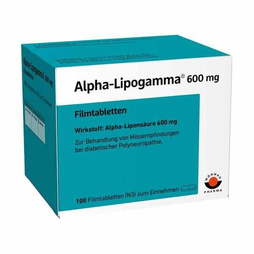 Alpha Lipogamma 600 mg Filmtabletten - 1