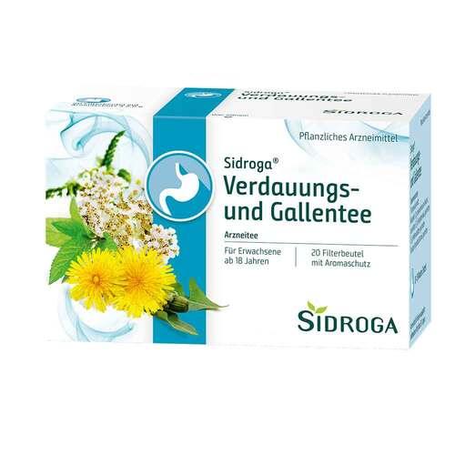 Sidroga Verdauungs- und Gallentee Filterbeutel - 1