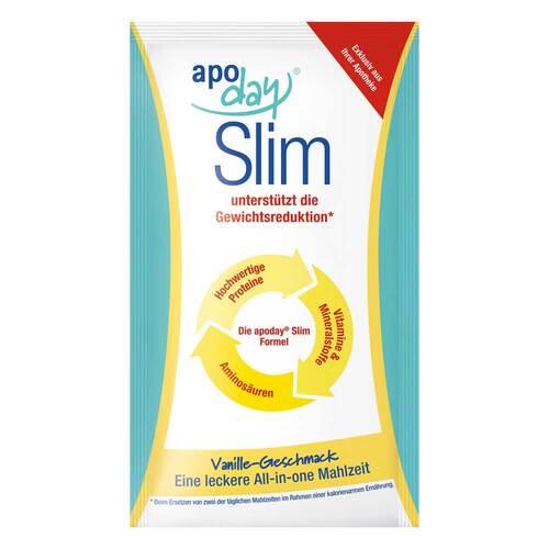 Apoday Vanilla Slim Pulver Portionsbeutel - 1