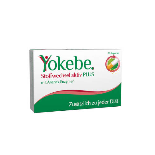 Yokebe Plus Stoffwechsel aktiv Kapseln - 1