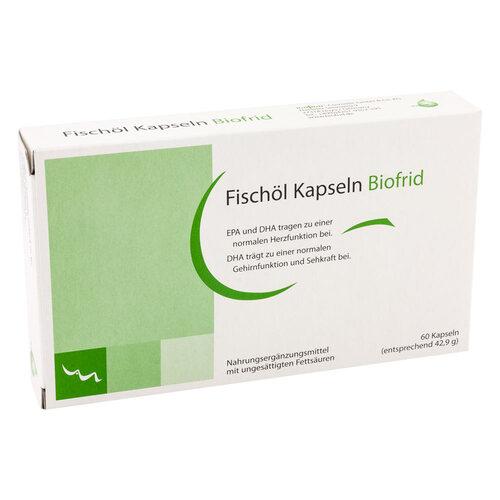 Fischöl Kapseln Biofrid - 1