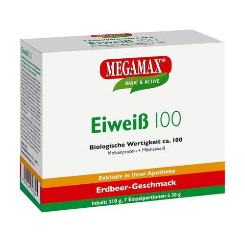 Eiweiss 100 Erdbeer Megamax Pulver - 1